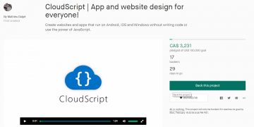 Cloudscript – A multi-platform IDE with educational venture potential