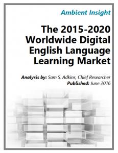 The Digital English Language Learning Market