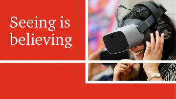 Seeing is believing: How VR/ AR will transform business and the economy