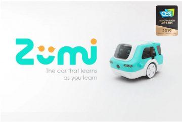 Zumi – Self-Driving Car Kit for Learning AI