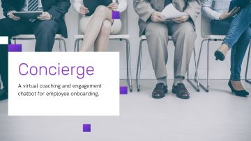 Concierge-A Virtual Coaching and Engagement Chatbot for Onboarding