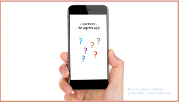 A3: – Questions – The Algebra App