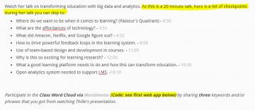 Week 8: Big Data & Learning Analytics (OER Summary)